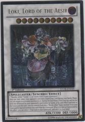 Loki, Lord of the Aesir - STOR-EN039 - Ultimate Rare - 1st Edition