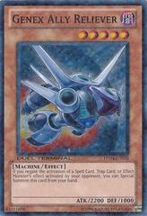 Genex Ally Reliever - DT04-EN070 - Duel Terminal Super Parallel Rare - 1st Edition on Channel Fireball