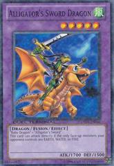 Alligator's Sword Dragon - DT04-EN086 - Parallel Rare - Duel Terminal on Channel Fireball