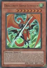 Dragunity Arma Leyvaten - SDDL-EN001 - Ultra Rare - 1st Edition on Channel Fireball