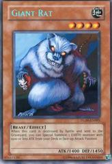 Giant Rat - Blue - DL09-EN005 - Rare - Promo Edition on Channel Fireball
