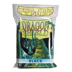 Dragon Shield 50 Count Yugioh Sized Sleeves - Black