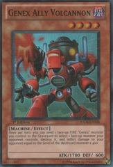 Genex Ally Volcannon - HA04-EN004 - Super Rare - 1st Edition
