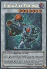 Genex Ally Triforce - HA04-EN057 - Secret Rare - 1st Edition
