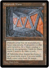 Portuguese Mana Crypt - Book Promo