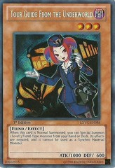 Tour Guide From the Underworld - EXVC-EN084 - Secret Rare - 1st Edition