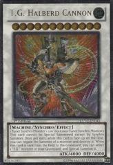T.G. Halberd Cannon - EXVC-EN043 - Ultimate Rare - 1st Edition