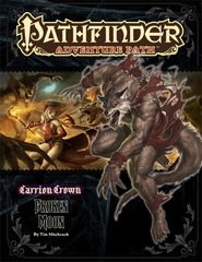 Pathfinder Adventure Path #45: Broken Moon (Carrion Crown 3 of 6)
