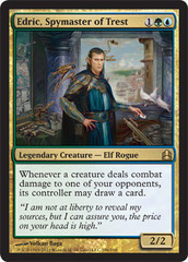 Edric, Spymaster of Trest on Channel Fireball