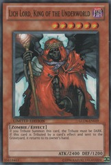 Lich Lord, King of the Underworld - GLD4-EN019 - Common - Limited Edition on Channel Fireball