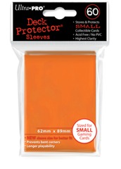 Ultra Pro Small Size Orange Sleeves - 60ct