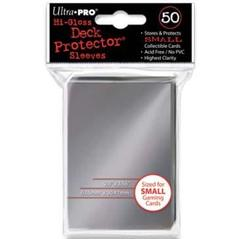 Hi-Gloss Silver Small Deck Protectors 50ct