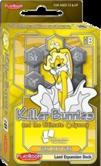 Killer Bunnies and the Ultimate Odyssey: Burn Baby Burn Land Expansion Deck