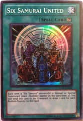 Six Samurai United - TU05-EN004 - Super Rare - Promo Edition