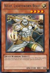Wulf, Lightsworn Beast - TU05-EN007 - Rare - Promo Edition