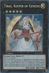Tiras, Keeper of Genesis - GENF-EN044 - Secret Rare - 1st Edition
