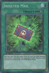 Infected Mail - GENF-EN051 - Super Rare - 1st Edition