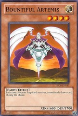 Bountiful Artemis - TU06-EN017 - Common - Promo Edition