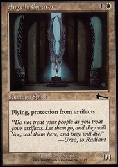 Angelic Curator - Foil on Channel Fireball