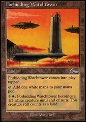 Forbidding Watchtower - Foil on Ideal808