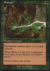 Rancor - Foil on Channel Fireball