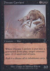 Disease Carriers - Foil