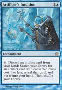 Artificer's Intuition - Foil