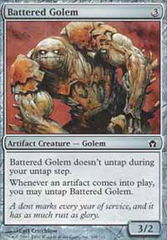 Battered Golem - Foil on Channel Fireball