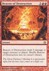 Beacon of Destruction - Foil on Channel Fireball