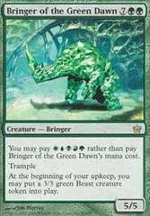 Bringer of the Green Dawn - Foil