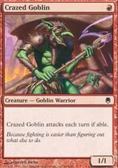 Crazed Goblin - Foil