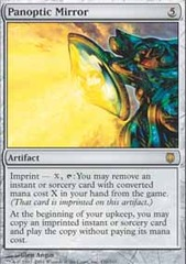 Panoptic Mirror - Foil on Channel Fireball