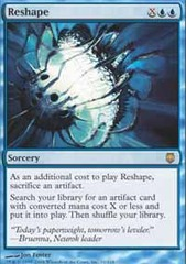 Reshape - Foil on Channel Fireball
