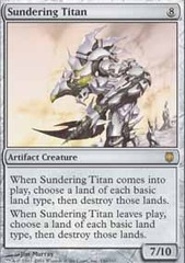 Sundering Titan - Foil on Ideal808