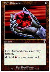 Fire Diamond - Foil