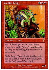Goblin King - Foil on Channel Fireball