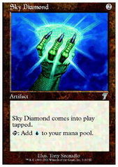 Sky Diamond - Foil on Channel Fireball