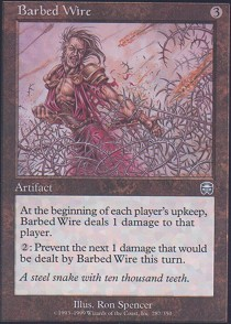 Barbed Wire - Foil