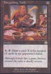 Bargaining Table - Foil