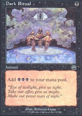 Dark Ritual - Foil on Channel Fireball
