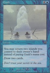 Gush - Foil on Channel Fireball