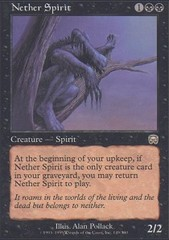 Nether Spirit - Foil on Channel Fireball