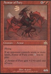 Avatar of Fury - Foil on Channel Fireball