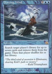 Denying Wind - Foil on Channel Fireball