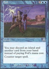 Foil - Foil on Channel Fireball