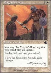 Mageta's Boon - Foil