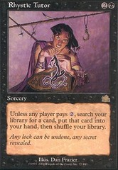 Rhystic Tutor - Foil on Channel Fireball