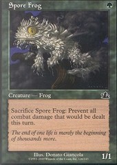 Spore Frog - Foil on Channel Fireball