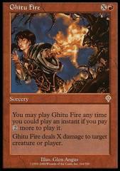 Ghitu Fire - Foil