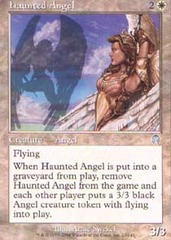 Haunted Angel - Foil
